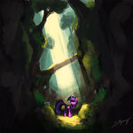 forest lolliponybrony princess_twilight twilight_sparkle