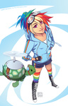 finni humanized rainbow_dash tank