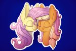 applejack flutterjack fluttershy heir-of-rick shipping