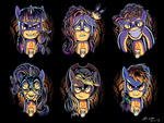 angel applejack candle fluttershy main_six pinkie_pie plushie rainbow_dash rarity shirt_design smarty_pants toy twilight_sparkle ziom05