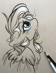 absurdres emberslament highres rainbow_dash traditional_art