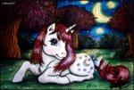 g1 lolliangel123 moon moondancer nighttime traditional_art trees