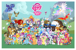 absurdres ace aloe angel apple_bloom applejack background_ponies balloon berry_punch big_macintosh braeburn bro_ponies canterlot carrot_cake cheerilee chief_thunderhooves cockatrice comic-con cup_cake cutie_mark_crusaders daisy derpy_hooves diamond_dogs diamond_tiara dumbbell fido fluttershy gilda golden_harvest granny_smith guard_pony gummy highres hoity_toity hoops horte_cuisine hydra lily_valley little_strongheart lotus_blossom lyra_heartstrings madame_leflour main_six manticore mayor_mare minuette moongaze mr_turnip opalescence original_character owlowiscious parasprite philomena photo_finish pinkie_pie pony_joe ponyville poster prince_blueblood princess_celestia princess_luna rainbow_dash rainbow_day rarity rocky rose rover sapphire_shores scootaloo score shadowbolts sheriff_silverstar silver_spoon sir_lintselot snailsquirm snipsy_snap soarin spike spitfire spot steven_magnet sweetie_belle sweetie_drops the_great_and_powerful_trixie time_turner twilight_sparkle twist vector vinyl_scratch winona zecora