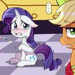 applejack baekgup grand_galloping_gala lowres rarity