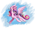 filly halotheme princess_cadance transparent twilight_sparkle young