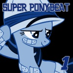 album_cover artist_unknown bandage hat pith_helmet ponybeat twilight_sparkle