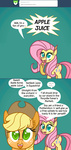 applejack ask comic fluttershy fluttershyreplies ponett