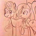 iracat sketch starlight_glimmer the_great_and_powerful_trixie