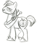 big_macintosh fim_crew lauren_faust production_art sketch