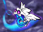 highres kna vinyl_scratch wings