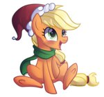 applejack hat highres left2fail santa_hat