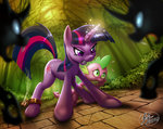 14-bis changeling magic spike twilight_sparkle