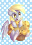 absurdres derpy_hooves highres left2fail muffin