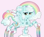 cloud emera33 pink-pone ponified rainbow_dash_house
