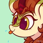 animated autumn_blaze kirin lolliponybrony lowres