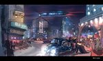 alumx car city highres original_character scenery