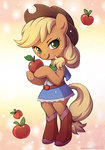anthro applejack apples lindsay_cibos