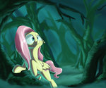 fluttershy forest highres rocket-lawnchair