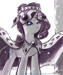 cloak crown hearth's_warming_eve johnjoseco princess_platinum rarity