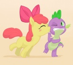 apple_bloom jakneurotic kiss spike