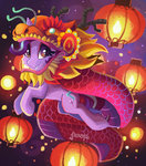 absurdres chinese_new_year costume highres lantern saxopi starlight_glimmer