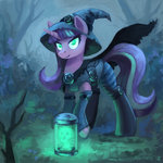asimos costume hat highres starlight_glimmer witch