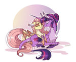 fluttershy highres marbola princess_twilight shipping twilight_sparkle twishy