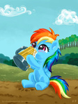 cider filly i_shall_not_use_my_hooves_as_hands kp-shadowsquirrel mug rainbow_dash