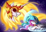 daybreaker highres jack-pie magic princess_celestia