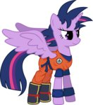 absurdres dragon_ball_z highres princess_twilight starbolt-81 twilight_sparkle
