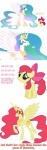 apple_bloom artist_unknown comic princess princess_celestia
