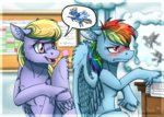 angry cloudkicker inuhoshi-to-darkpen rainbow_dash