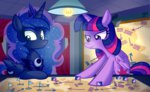 flag highres map princess_luna princess_twilight tabletop_game twilight_sparkle wildberry-poptart
