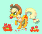 applejack apples mozuright