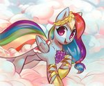 absurdres cloud dress gala_dress highres mirroredsea rainbow_dash