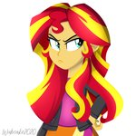 equestria_girls humanized sunset_shimmer wubcakeva
