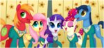 big_macintosh ctb-36 fluttershy rarity singing sweater the_ponytones toe-tapper torch_song