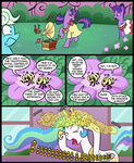 background_ponies bees comic dancing madmax princess_celestia twilight_sparkle