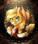 applejack clothes giumbreon4ever highres portrait