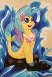 gleamydreams highres princess_skystar traditional_art