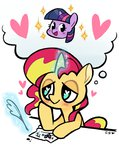 cuteosphere princess_twilight shipping sunlight sunset_shimmer twilight_sparkle