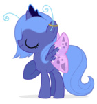costume filly flausch-katzerl halloween princess_luna transparent wings