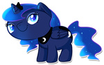 chibi pepooni princess_luna transparent