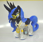 apple_(company) disco earbuds glasses ipod photo plushie princess_luna shutter_shades suit toy valio99999 watermark