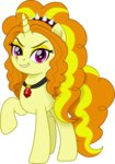adagio_dazzle cloudyglow equestria_girls highres ponified vector