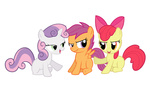 apple_bloom cutie_mark_crusaders highres newlunaticrepublic scootaloo svg sweetie_belle vector