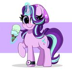 absurdres highres ice_cream itskittyrosie magic starlight_glimmer