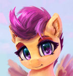 absurdres highres scootaloo xbi
