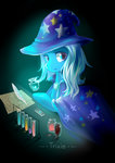 absurdres claudiaqh highres paper potion quill test_tube the_great_and_powerful_trixie