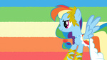 dress gala_dress highres rainbow_dash shelltoontv vector wallpaper